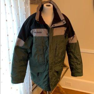 Columbia Men's Winter Coat in Large EUC